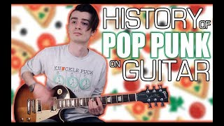 A History Of Pop Punk on Guitar w/ Tabs