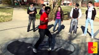 'This Pitt State Gorilla can dance!!