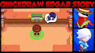The Love Story of Quickdraw Edgar & Colette | Brawl Stars Story Time | Cosmic Shock