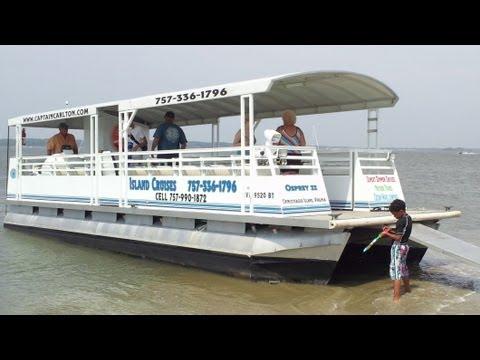 Baixar Let's Take a ride on the SandBar Bus with Captain Carlton at Chincoteague Island VA!
