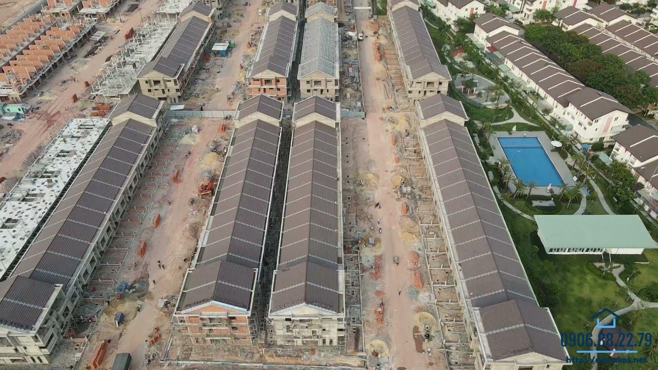 Bán căn góc và kế góc nhà phố biệt thự Vườn Thiên Đàng 2 - EcoLakes Mỹ Phước video