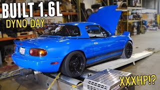 BUILT, HIGH COMPRESSION, TURBO 1.6L Hits the Dyno and Makes CRAZY POWER! (Possible World Record?)