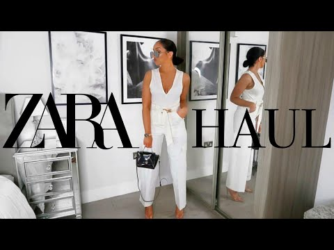 HUGE SUMMER ZARA HAUL & TRY-ON!