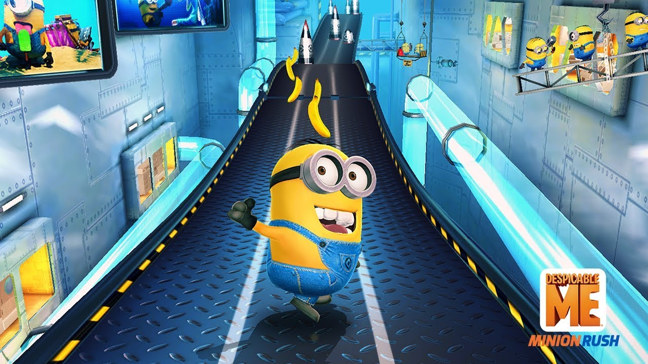 Играй Гадкий Я: Minion Rush on pc 1