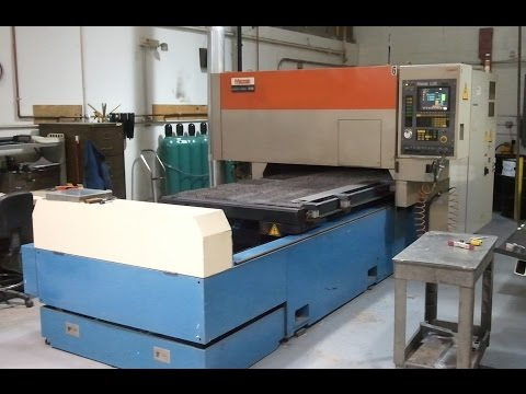 Mazak Laser For Sale, Model Super Turbo-X48, 1500 watts