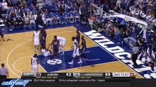 Kentucky vs. Auburn 2/21/15