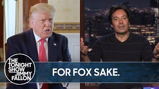 Trump Crawls Back to Fox After Disastrous HBO Interview | TheTonightShow