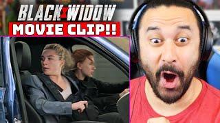 "BLACK WIDOW CLIP - REACTION!! ""You Got A Plan?"" Clip   Marvel Studios'   MTV Movie Awards"
