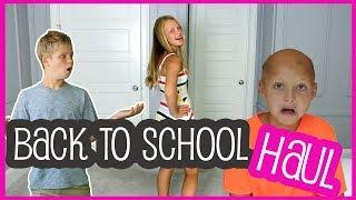 BACK TO SCHOOL FASHION HAUL - GRWM (Get Ready with Me)