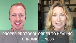 Proper Protocol Order to Healing Chronic Illness with Dr. Jay Davidson