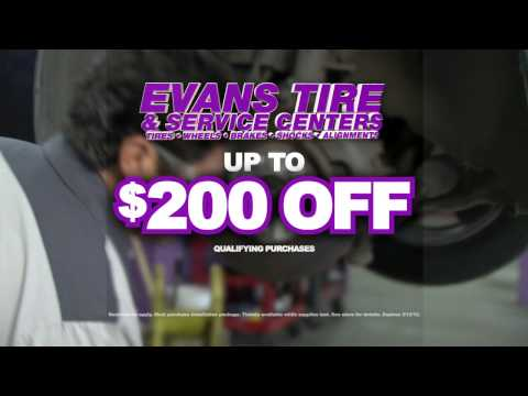 Evans Tire - Free Alignment