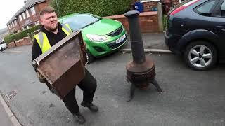 FULL DAY STREET SCRAPPING UK SCRAP METAL HAPPY EASTER GUYS!!!