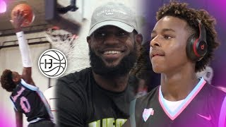 Bronny James PLAYS JUST LIKE LEBRON! Miami Tourney FULL HIGHLIGHTS!