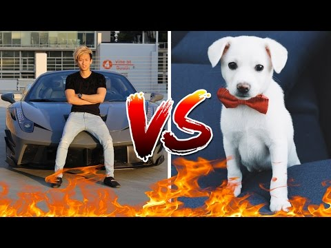 Picking Up Girls With A Ferrari VS With A Puppy EXPERIMENT!!