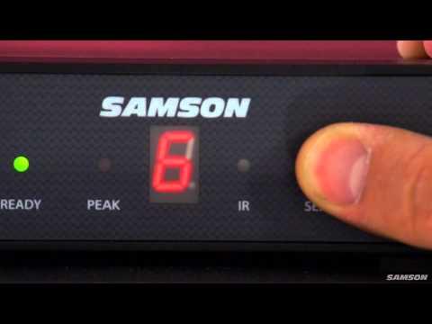 Samson Concert 88 Guitar - 16-Channel UHF Wireless System