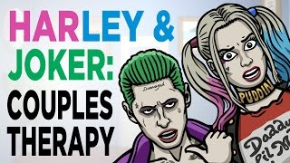 Joker & Harley - Couples Therapy (Suicide Squad) - TOON SANDWICH