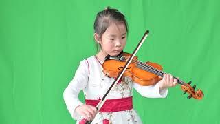 Kelly Zhu Violin Solo 2019-01-19 Minuet 1