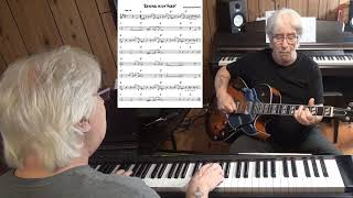 Raining in my Heart - Country guitar & piano cover ( Felice & Bouleaux Bryant )