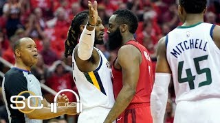 Rockets vs. Jazz Game 5 breakdown:  Don't guard James Harden like this | SC with SVP