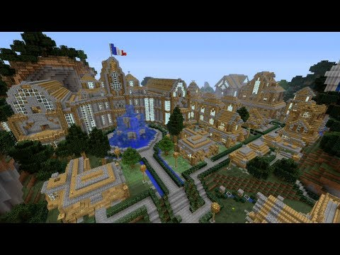Minecraft Xbox - Hot Air Balloon Ride - Arcancia City - Part 3 - Smashpipe Games