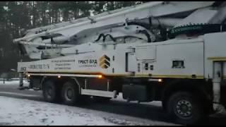 BMS Everdigm 59CX-5 Beton Pompası ile Ukrayna Kiev'de hizmet veriyor