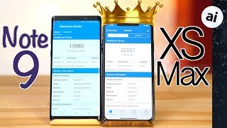 iPhone XS Max vs Note 9 Benchmark Comparison - The New King?