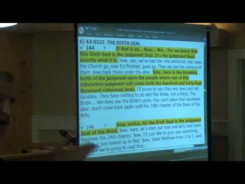 12-1205 - Study on Six Fold Purpose - Wade Dale