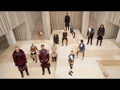 Burberry Autumn/Winter 2021 Menswear Presentation