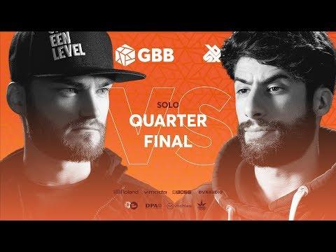 B-ART vs MB14 | Grand Beatbox Battle 2019 | 1/4 Final