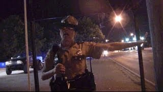 State Trooper Tries to Kick Us off Public Property on 4th of July