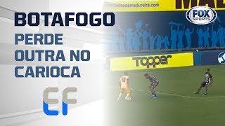 PERDEU MAIS UMA! Botafogo é derrotado pela segunda vez seguida no Campeonato Carioca