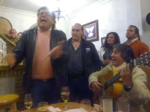 Sevillanas del grupo Los Lirios en Casa Peñafiel del Rocio - 2009 Candelaria de Triana 2009