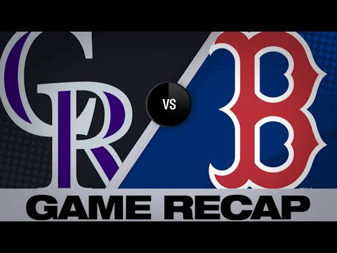 5/14/19: Reynolds leads Rockies past Red Sox in 11th