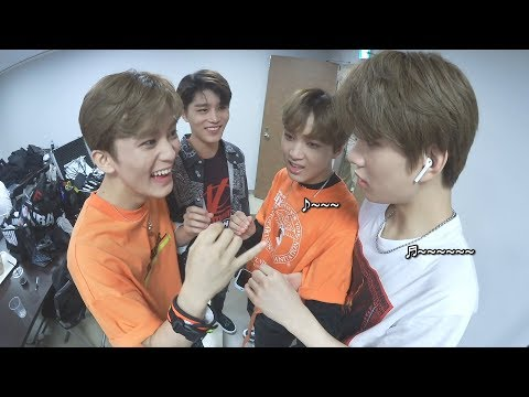 [N'-55] NCT in SMTOWN OSAKA #5 - BEHIND THE STAGE