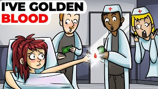 I've Golden Blood | Animated Story about Neutral Rh