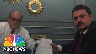 Giuliani Linked To Accused Russian Agent While Digging For Dirt On Hunter Biden | NBC News NOW