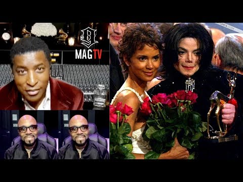 Babyface Tells Michael Jackson & Halle Berry Story Vs. Teddy Riley!