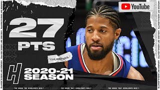 Paul George 27 Pts 6 Ast Full Highlights vs Pelicans | January 13, 2021 | 2020-21 NBA Season