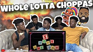 Sada Baby - Whole Lotta Choppas [Remix] ft. Nicki Minaj (Lyric Video)Reaction!!
