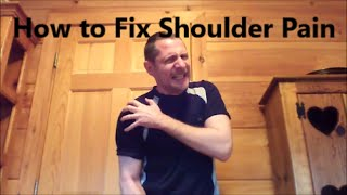 How to Cure Your Shoulder  (Tendonitis, Bursitis, Impingement)