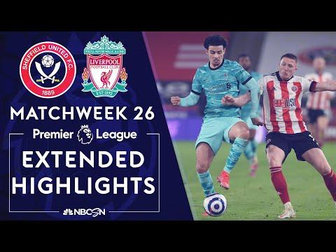 Sheffield United v. Liverpool | PREMIER LEAGUE HIGHLIGHTS | 2/28/2021 | NBC Sports