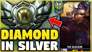 I TOOK MY JAX INTO SILVER 5 FOR THE FIRST TIME! DIAMOND JAX VS SILVER ELO! - League of Legends