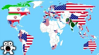 Top 10 Maps That Will Change The Way You See The World
