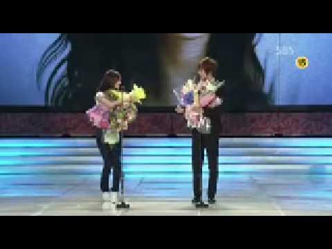Kim Hyun Joong & Yoona @ Baeksang Arts Awards