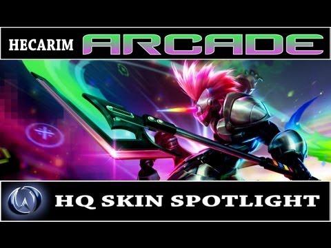 League of Legends: Arcade Hecarim (HQ Skin Spotlight ...