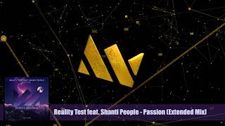 Reality Test feat. Shanti People - Passion (Extended Mix) - Alteza Records 001