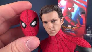 How Realistic is the Hot Toys Spider-man Homecoming Spider-man?? #Spiderman