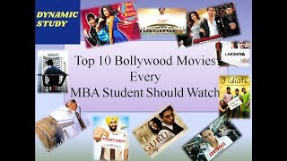 Top 10 Bollywood Movies Every MBA Student Should Watch!