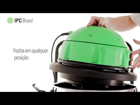 Aspirador de Pó e Líquidos 80L Aa280 Ipc Soteco - 220V - Vídeo explicativo