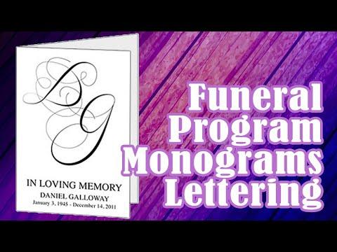 Elegant Script Letters